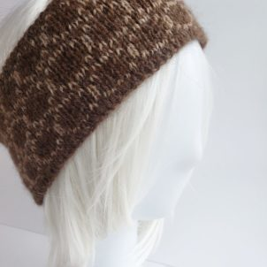 Alpaca headband made in the USA