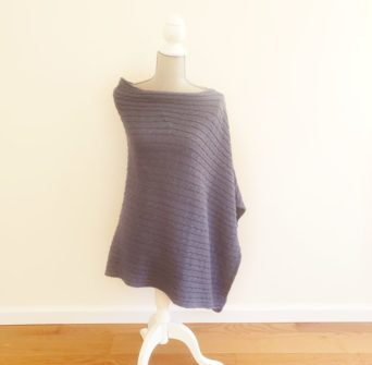 Made in New England Alpaca Poncho