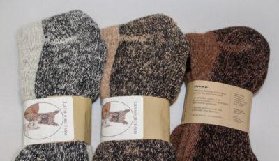 high calf unisex alpaca socks