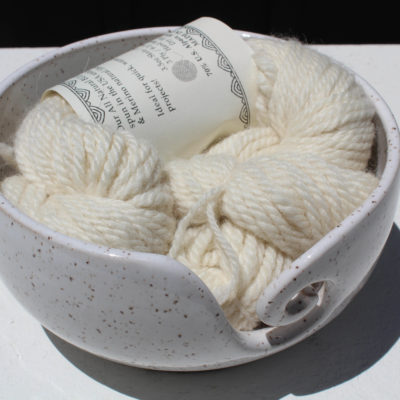 Bulky alpaca yarn