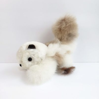 Plush Squirrel alpaca fiber