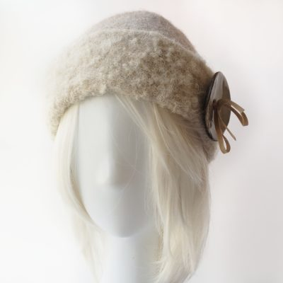 Alpaca and Wool Hand Made felted hat