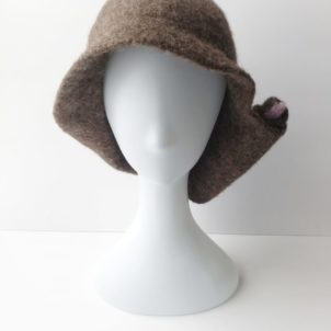 Wool Hand Made Felted Hat