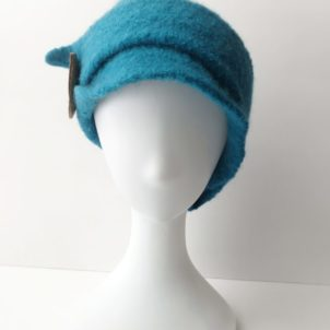 Wool hat felted