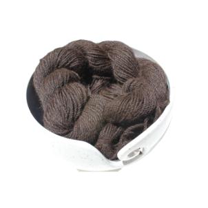 bay black alpaca yarn