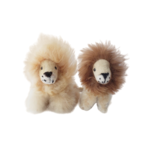 mini lion plush