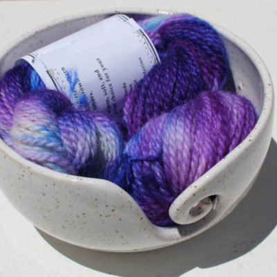 hand painted alpaca yarn
