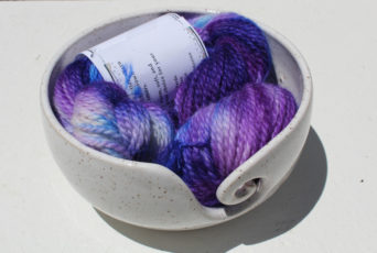 hand painted alpaca yarn