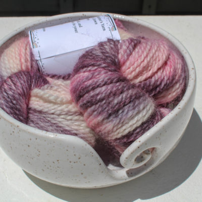 Alpaca and Wool Yarn Hand Painted
