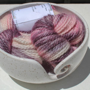 Alpaca and Wool Yarn Hand Painted