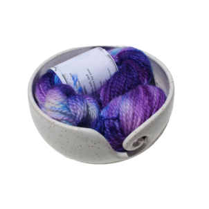 violet patch alpaca yarn