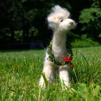 Alpaca Fiber Art