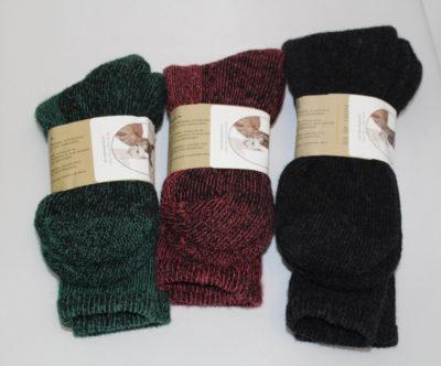 mens winter alpaca sock