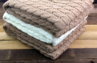 fawn alpaca blanket