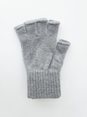 Fingerless Alpaca Gloves