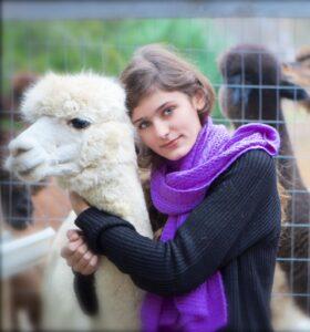 Book a farm tour or alpaca trek