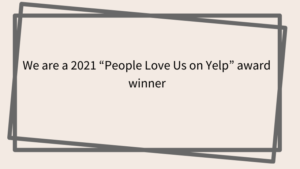 People love us on Yelp award winner