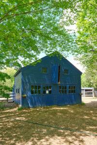 1900 blue barn - carriage house