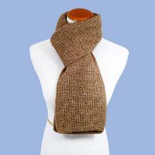 Lilymoore Herringbone_Fawn_scarf